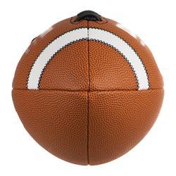 Ballon de football américain GST COMPOSITE OFFICIAL adulte marron