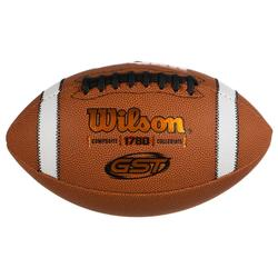Ballon de football américain GST COMPOSITE OFFICIAL adulte marron