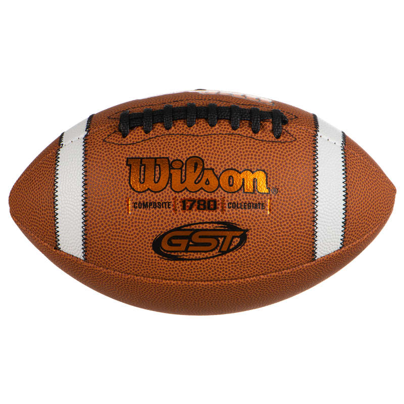 AMERICAN FOOTBALL American Football - GST Composite Official - Brown WILSON - Sports