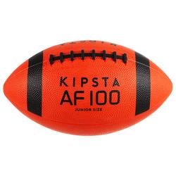 Bola de Futebol Americano Criança Laranja/Preto