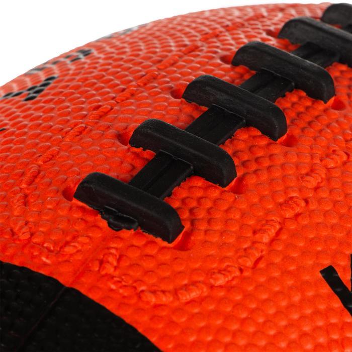 Bal American football kinderen oranje/zwart