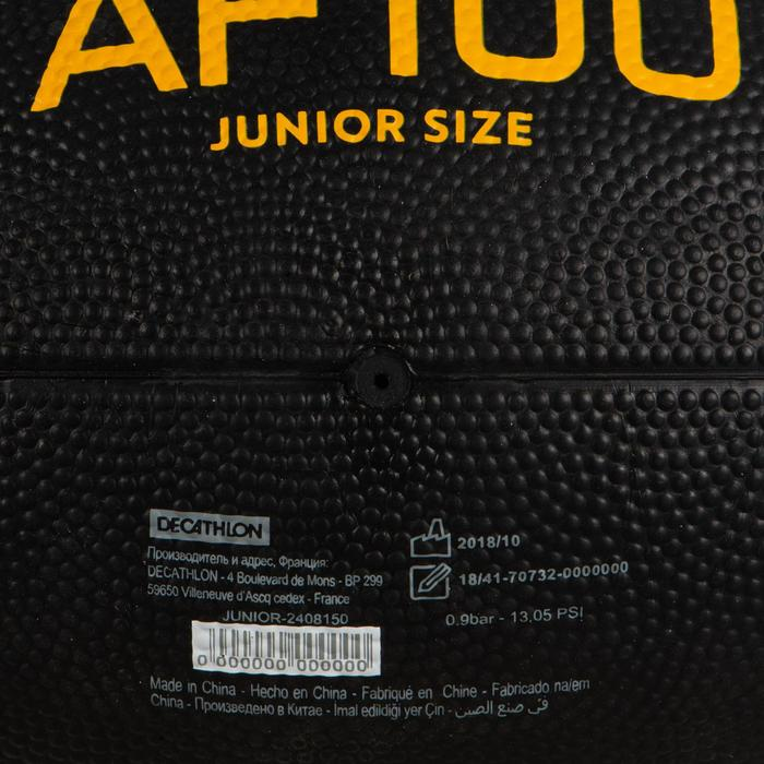 Bal American football kinderen zwart/geel