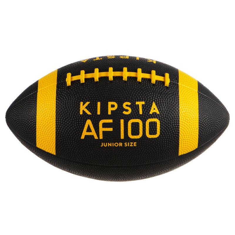 Minge Fotbal American AF 300 Negru/galben Copii