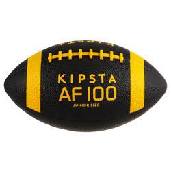 Bola de Futebol Americano Criança Preto/Amarelo