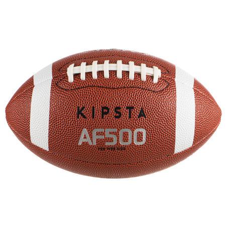 Balón de fútbol americano Talla Pee Wee AF500 Café