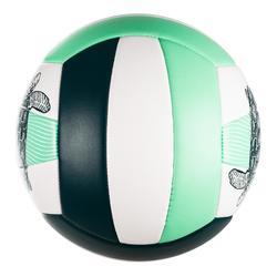 Ballon de beach-volley BVBS100 vert foncé