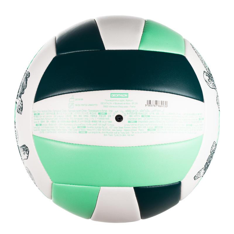 Balón volley playa BVBS100 verde oscuro
