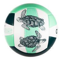 М'яч 100 для пляжного волейболу - Темно-зелений