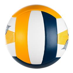 Ballon de beach-volley BVBS100 bleu et jaune