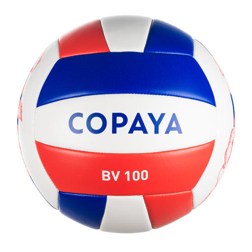 Ballon de beach volley BVBS100 violet et corail