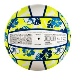 Ballon de beach-volley BV100 Fun bleu et jaune