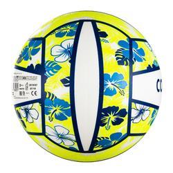 Bal voor beachvolley BV100 Fun blauw/geel