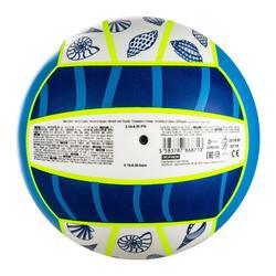 Bal voor beachvolley BV100 Fun blauw