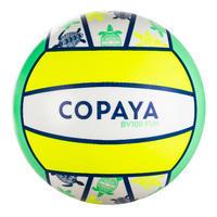 Ballon de beach-volley BV100 Fun jaune fluo