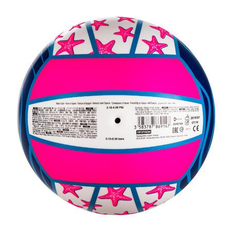 Bola Voli Pantai BV100 Fun - Ungu/Pink