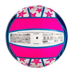 Ballon de beach-volley BV100 Fun violet et rose