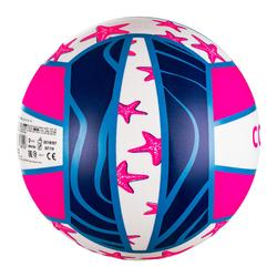 Ballon de beach-volley BV100 Fun violet et rose