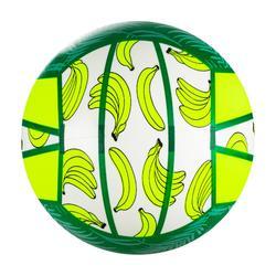 Ballon de beach-volley BV100 Fun vert fluo