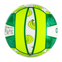Ballon de beach-volley BV100 Fun vert fluo