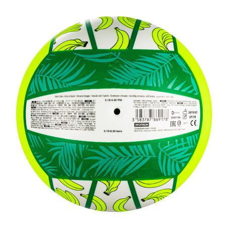 Bola Voli Pantai BV100 Fun - Hijau Neon