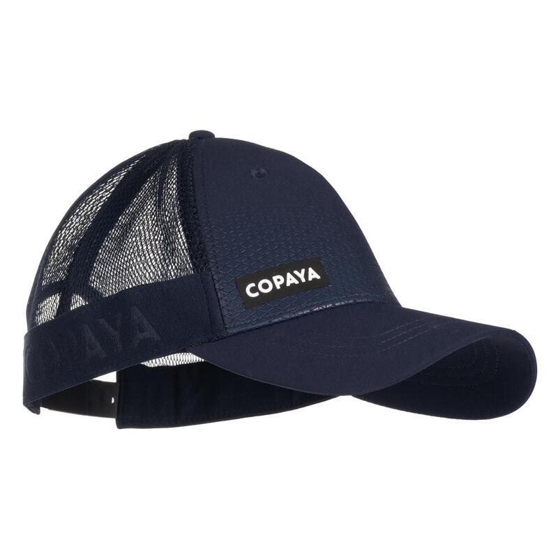 Gorra de vóley playa adulto BVC500 azul oscuro