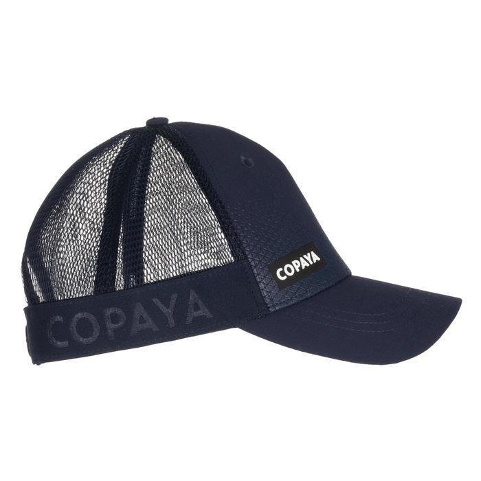 成人款沙灘排球帽BVC500-黑色