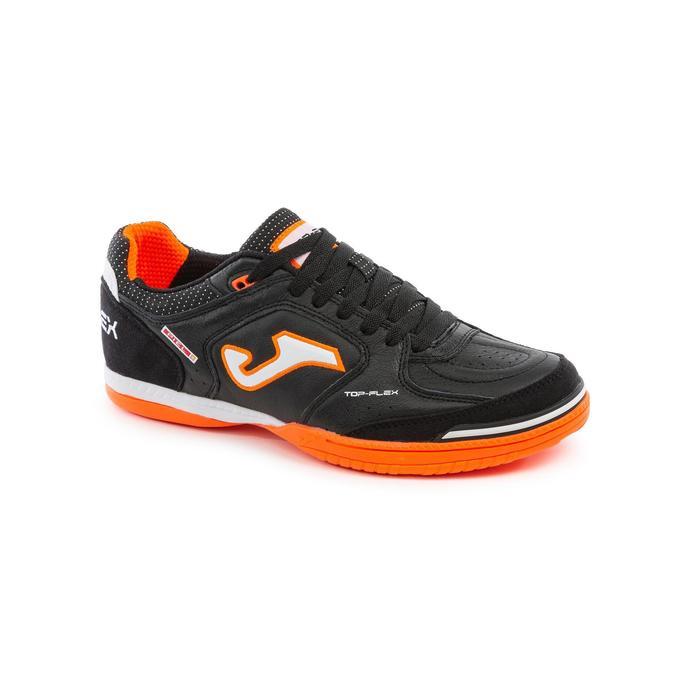 Zaalvoetbalschoenen volwassenen Top Flex zwart/oranje