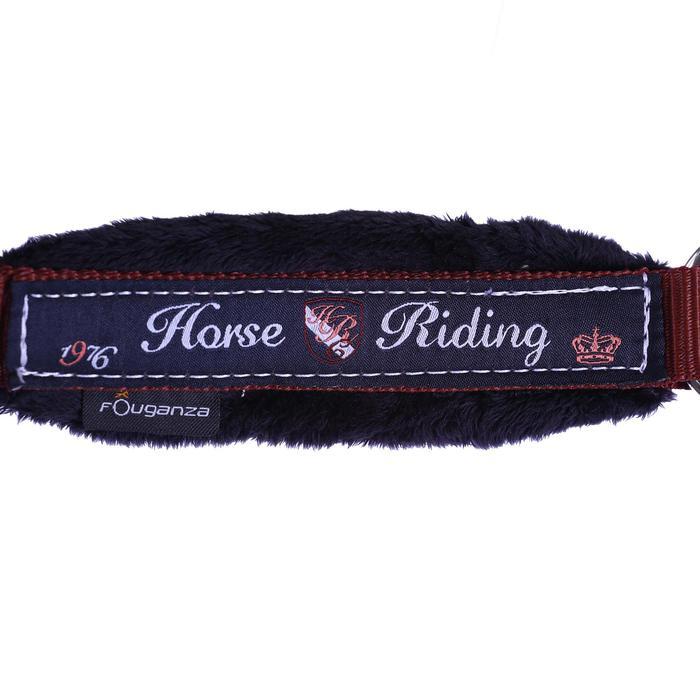 Cabestro + ronzal equitación poni y caballo WINER burdeos
