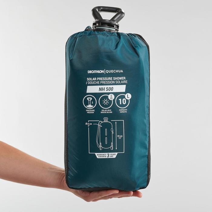 Zonnedouche onder druk voor de camping 10 liter