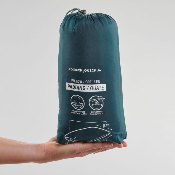 Camping-Kopfkissen Reisekissen Komfort blau