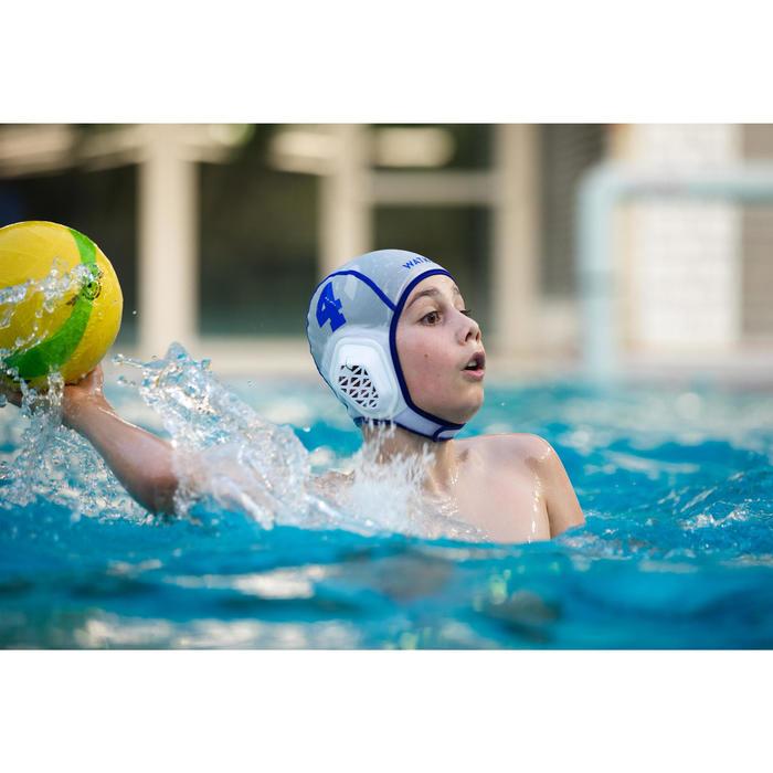 BALLON WATER POLO WP500 TAILLE 3 JAUNE VERT