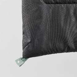 Kampeerslaapzak Arpenaz 15°C zwart