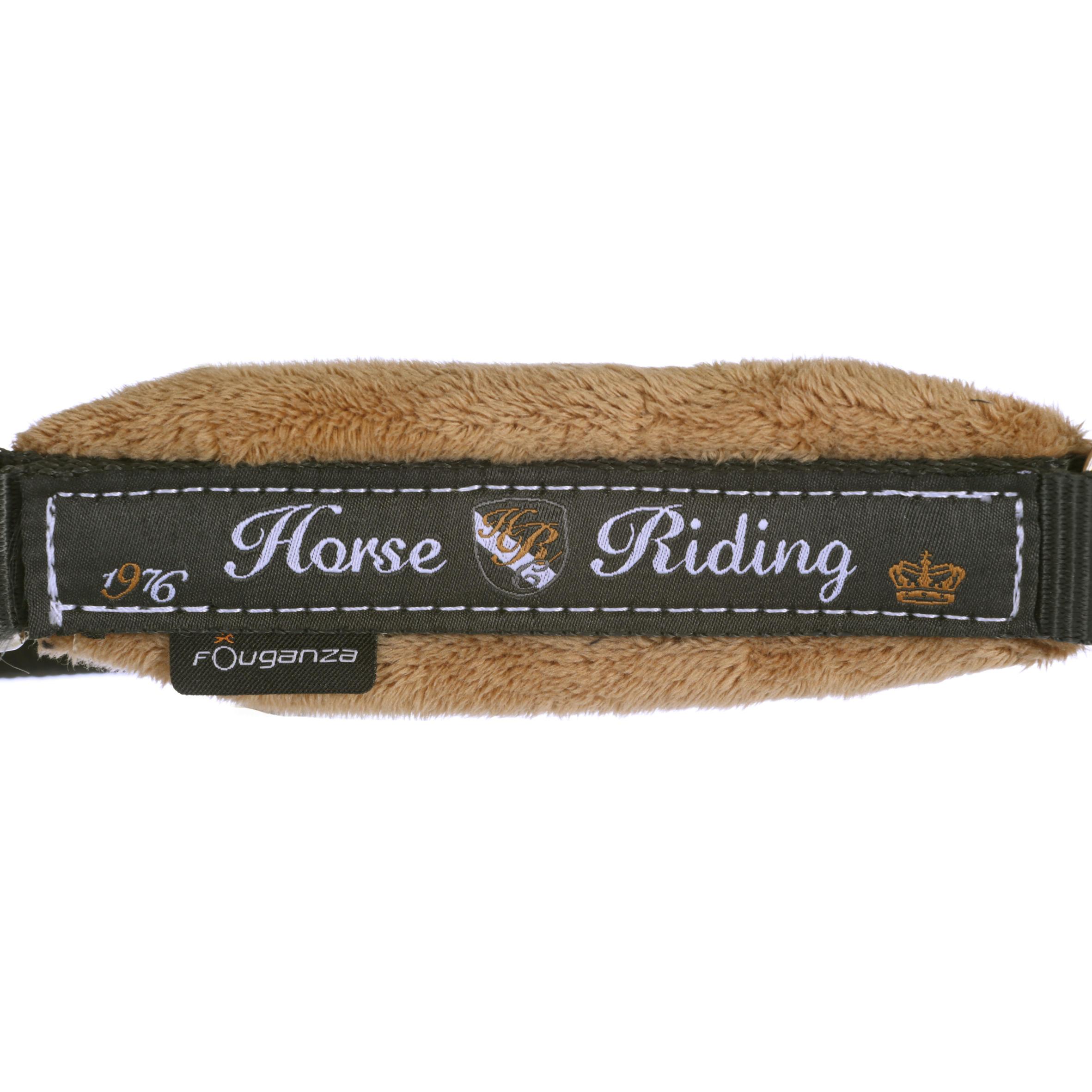 Licol + longe équitation poney et cheval WINNER gris foncé