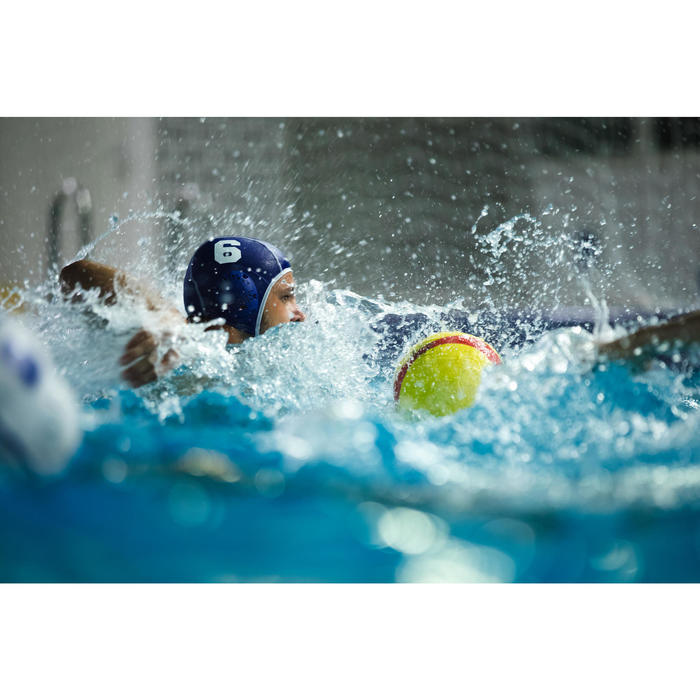 Lot de 13 bonnets water polo adulte bleu