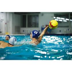 Bonnet water polo 500 adulte bleu
