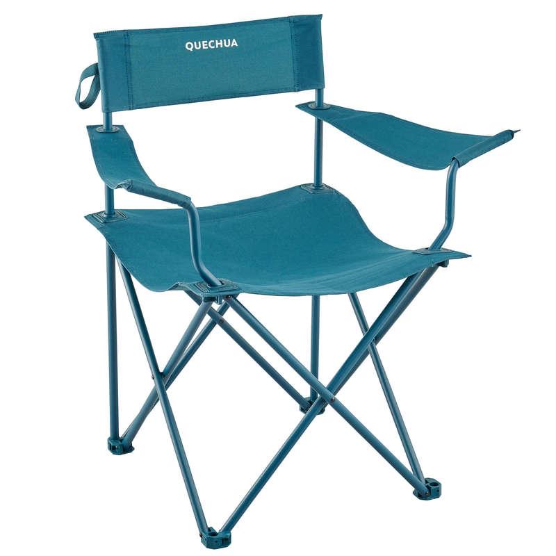 MEBLE KEMPINGOWE Turystyka - Krzesło kempingowe QUECHUA - Turystyka
