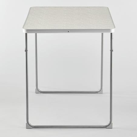 Salokāms telšu nometnes galds 2–4 personām