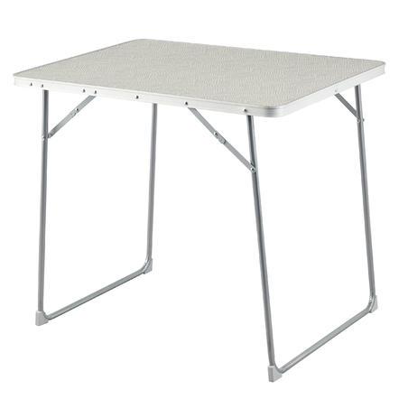 Table de camping pliable