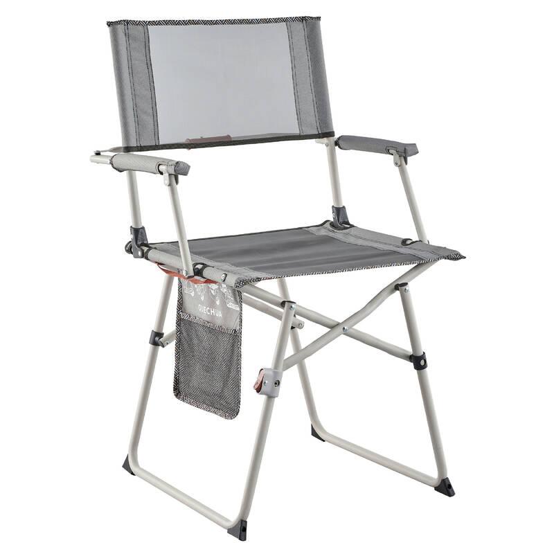 KEMPINGOVÝ NÁBYTEK Turistika - Židle ke stolu Comfort QUECHUA - Kempování