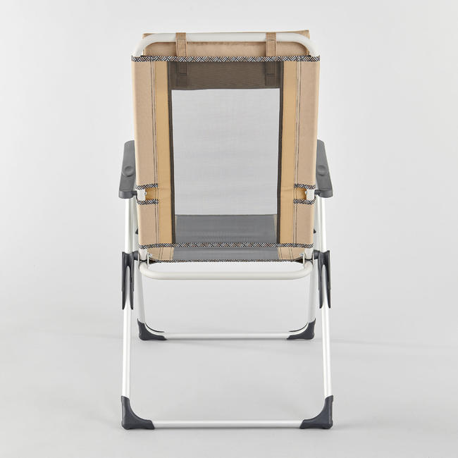 VERY COMFORTABLE FOLDING ARMCHAIR FOR CAMPING - RECLINABLE COMFORT
