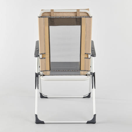 EXTREMELY COMFORTABLE FOLDING CAMPING CHAIR - RECLINABLE COMFORT