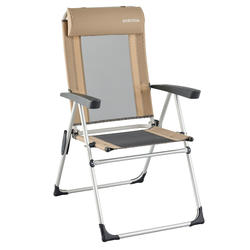 Zeer comfortabele vouwstoel voor op de camping
