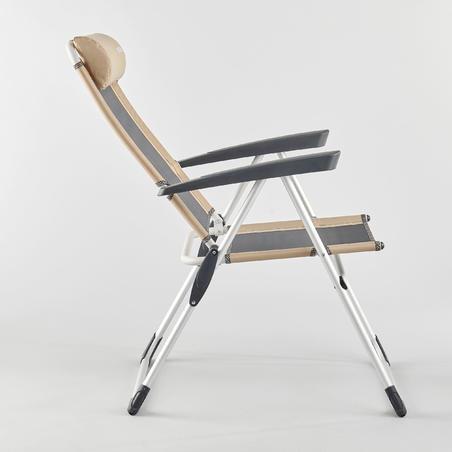 כיסא מתקפל נוח מאוד לקמפינג - הטיה נוחה