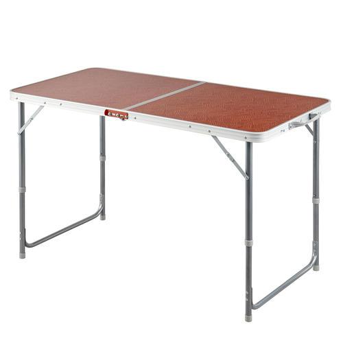 TABLE DE CAMPING PLIANTE - 4 À 6 PERSONNES