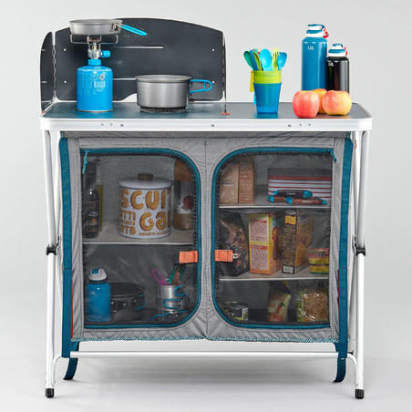 Folding Kitchen Unit For Camping - Quechua