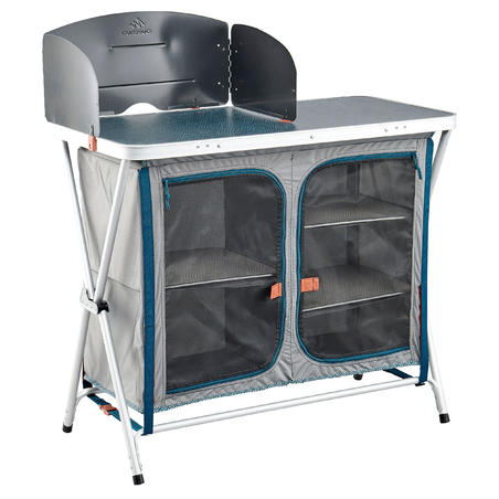 FOLDING CAMPING KITCHEN UNIT