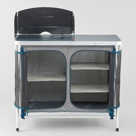 Salokāma kempinga virtuves iekārta