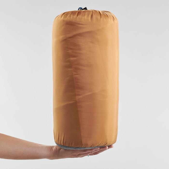 COTTON SLEEPING BAG FOR CAMPING - ARPENAZ 20° COTTON