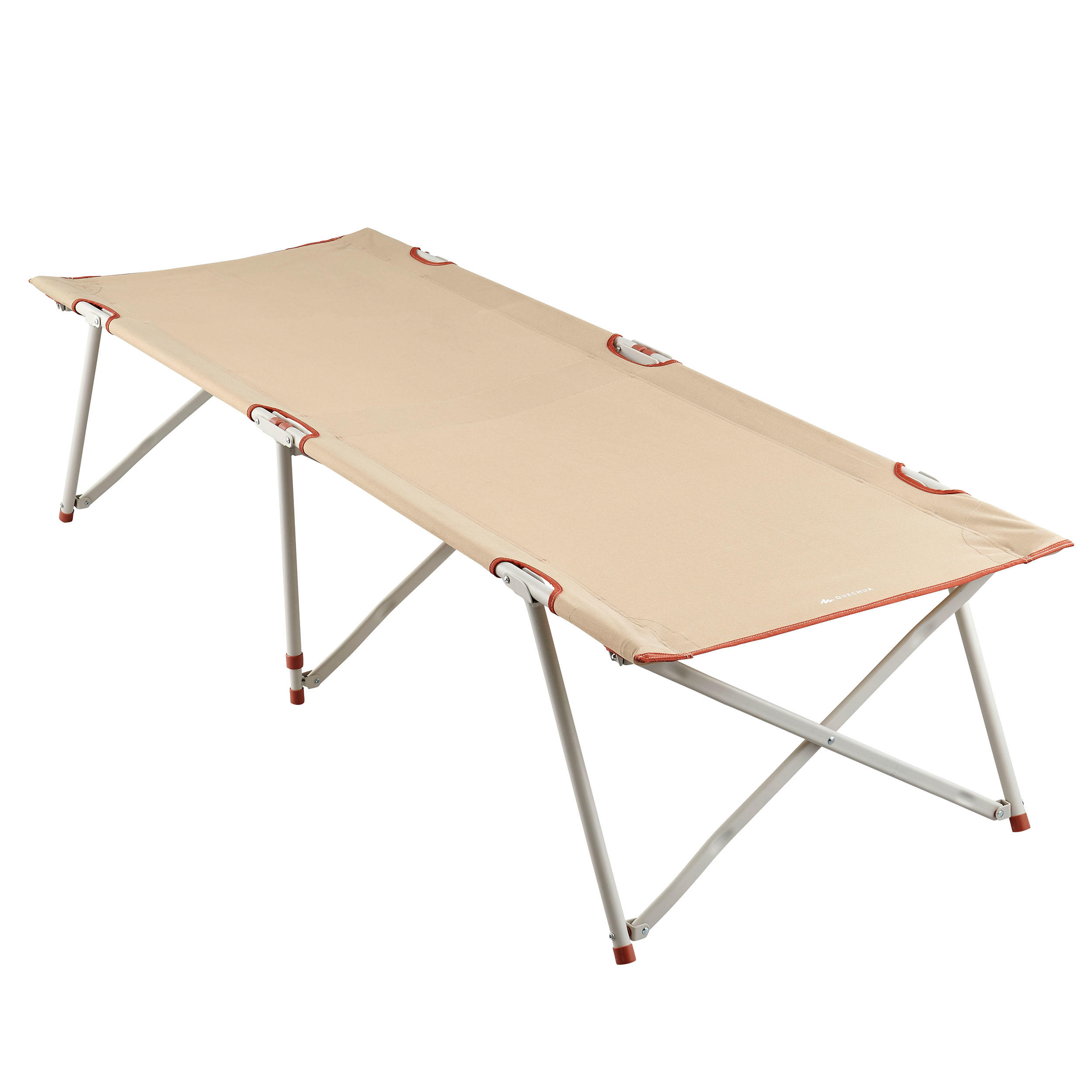 Lit De Camp Pour Le Camping Camp Bed Second 65 Cm 1 Personne Quechua Decathlon