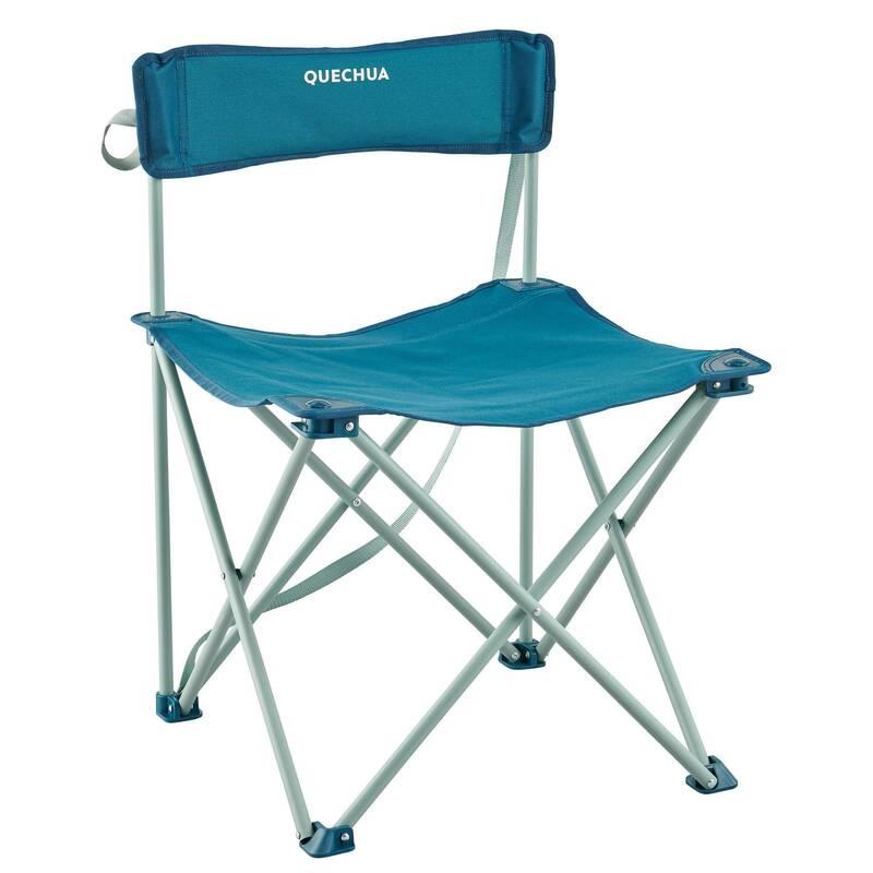 KEMPINGOVÝ NÁBYTEK Turistika - Skládací židle Basic QUECHUA - Kempování